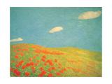 Hills of Liguria, 1912 - 1913 Giclee Print by Gaetano Previati