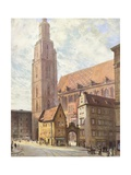 Poland, Wroclaw Giclee Print