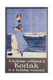Poster Advertising Kodak Cameras, C.1930 Giclee Print