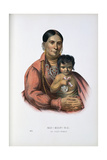 Do-Hon-Go, an Osage Woman, 1899 Giclee Print by Thomas Loraine Mckenney