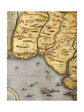Harbor of Palos Giclee Print by Abraham Ortelius