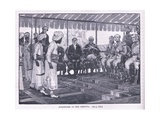 Surrender of the Peishwa Ad 1818 Giclee Print by Henry Marriott Paget