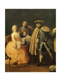 The Music Teacher Giclee Print by Pietro Longhi