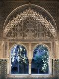 Bi-Mullioned Window, Court of Lions, Alhambra Photographic Print