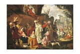 Adoration of Magi Giclee Print by Pieter Lastman