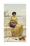 Idleness, 1900 Giclee Print by John William Godward