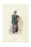 Costume of a Page, Reign of Charles V of France Giclee Print
