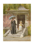 Going Shopping Giclee Print by George Goodwin Kilburne