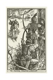 The Archers Threaten Lancelot Lámina giclée por Henry Justice Ford