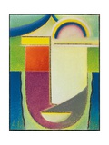 Abstract Head: Easter, 1933 Giclee Print by Alexej Von Jawlensky