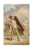 Gaulish Warriors Giclee Print