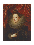Portrait of Eleonora De Medici, Duchess of Mantua Giclee Print by Frans II Pourbus