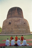 Buddhist Stupa Photographic Print