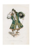 A M Morel, Docteur En Sorbonne, Satire VIII Giclee Print by Emile Antoine Bayard