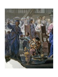 Marriage at Cana Giclee Print by Vittorio Maria Bigari