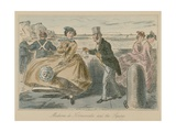 Madame De Normanville and the Squire Giclee Print by John Leech