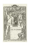 How Arthur Drew the Sword Giclee Print by Henry Justice Ford