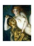 Scherzo, 1909 Giclee Print by Franz von Stuck