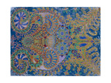 Kaleidoscope Cats VII Giclee Print by Louis Wain