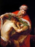 Return of the Prodigal Son, 1773 Giclee Print by Pompeo Girolamo Batoni