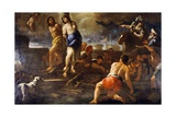 Olindo and Sophronia Giclee Print by Luca Giordano