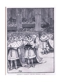Coronation of William Iv Ad 1832 Giclee Print by Henry Marriott Paget