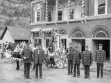 Ouray Fire Department, City Hall, C.1906 Photographic Print