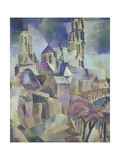 The Towers of Laon, 1912 Reproduction procédé giclée par Robert Delaunay
