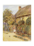 Straying Giclee Print by Helen Allingham
