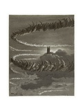 The Spirits in Jupiter Giclee Print by Gustave Doré