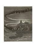 The Spirits in Jupiter Lámina giclée por Gustave Doré
