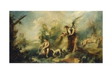 Tobias and Fish Giclee Print by Giovanni Antonio Guardi