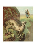 Finding the Sheep Giclee Print