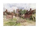 Monks Eleigh, Suffolk Giclee Print by Alfred Robert Quinton