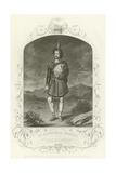 Mr Macready as Macbeth, Act I, Scene III Giclee Print by Joseph Kenny Meadows