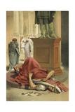 Death of Julius Caesar, Rome, 44 Bc Giclee Print