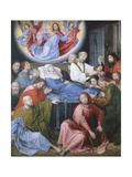 Death of the Virgin Giclee Print by Hugo van der Goes