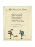 The Blue Coat Boys Giclee Print by Thomas Crane