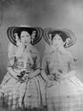 The Baldwin Sisters, C.1853 Photographic Print by John Gregory Crace