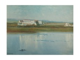 At Marazion - Riverside Farm Giclee Print by Frederick Milner