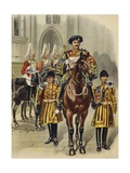 Proclaiming George V King of England, 1910 Giclee Print by Henry Payne