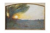 Sun, 1904 Giclee Print by Giuseppe Pelizza da volpedo