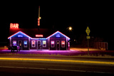 Dinner in Montana by Night Photographic Print