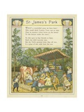 St James's Park Giclee Print by Thomas Crane