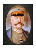 German Field Marshal Paul Von Hindenburg Giclee Print by Hans Best