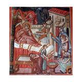 Birth of the Virgin Mary, 1494 Giclee Print by Philippos Goul