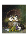 Playtime Giclee Print by Leon-charles Huber