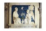 Annunciation Giclee Print by Andrea Della Robbia