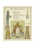 The Milk Woman Giclee Print by Thomas Crane