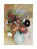 Flowers in a Green Vase, 1910 Giclee Print by Odilon Redon